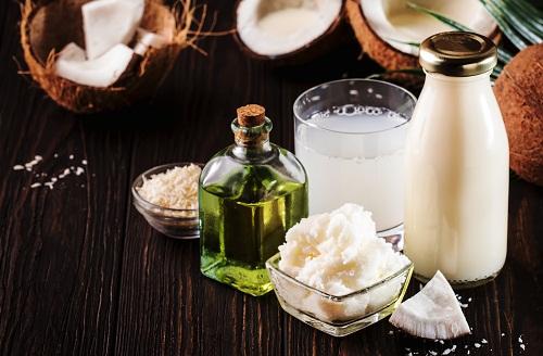 l'huile de noix est riche en acide laurique